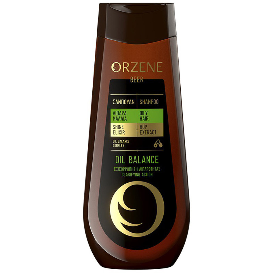 ORZENE SHAMPOO OILY/OIL BALANCE 400ML R18