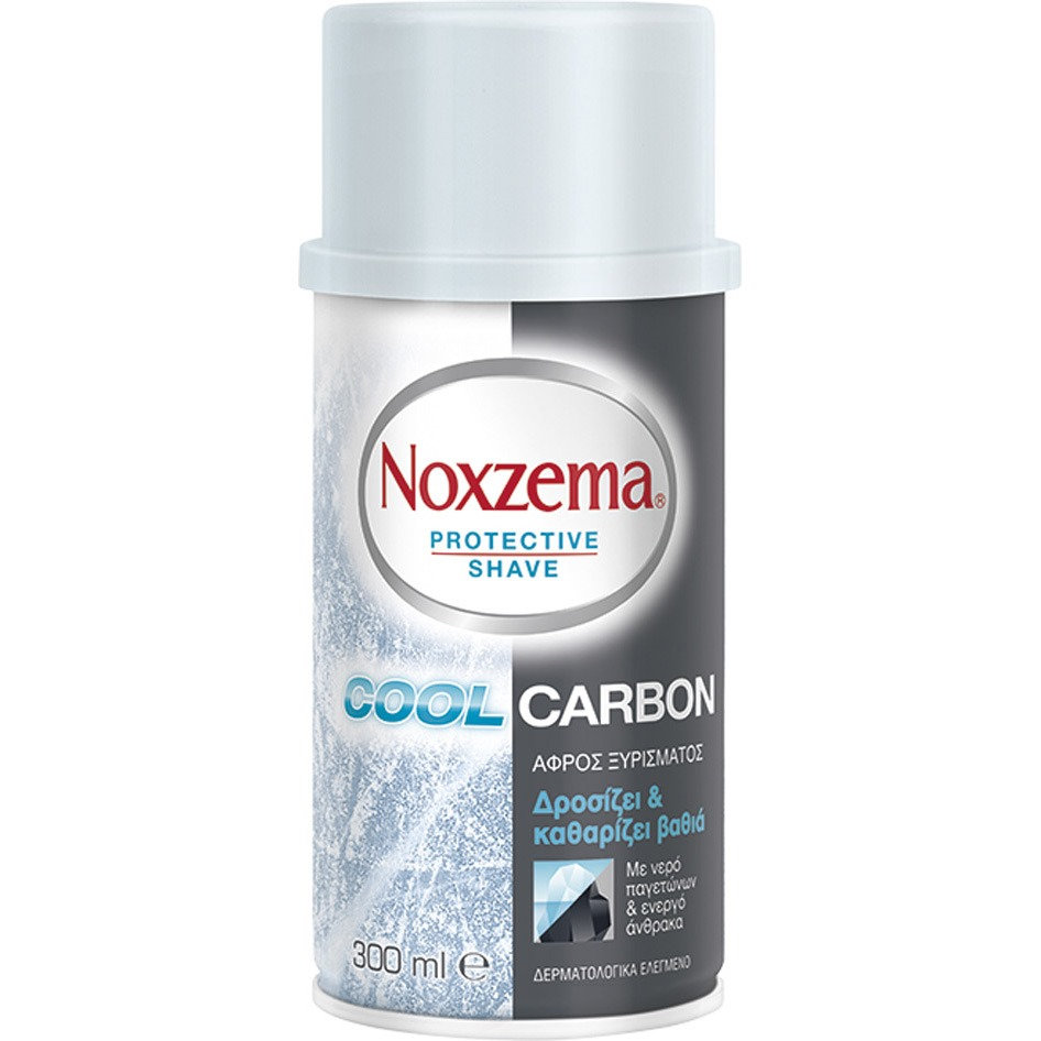 NOXZEMA SHAVING FOAM COOL CARBON 300ML R19