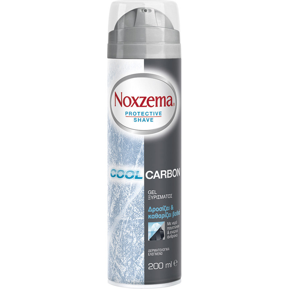 NOXZEMA SHAVING GEL COOL CARBON 200MLR19