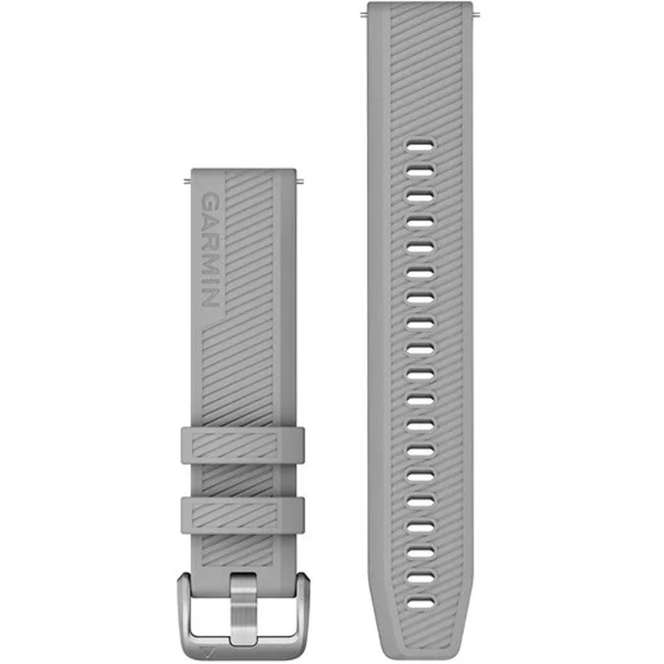 GARMIN Approach QuickFit 20mm Grey Silicone Replacement Strap