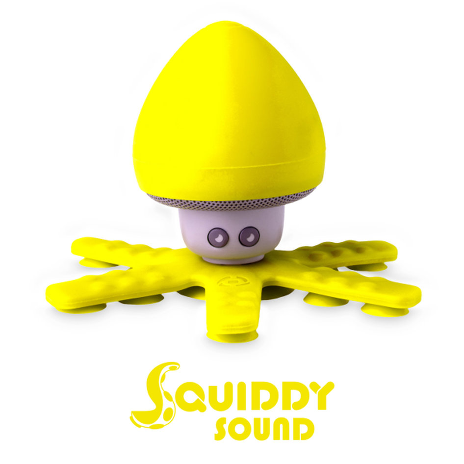 Celly Squiddy Speaker Yellow