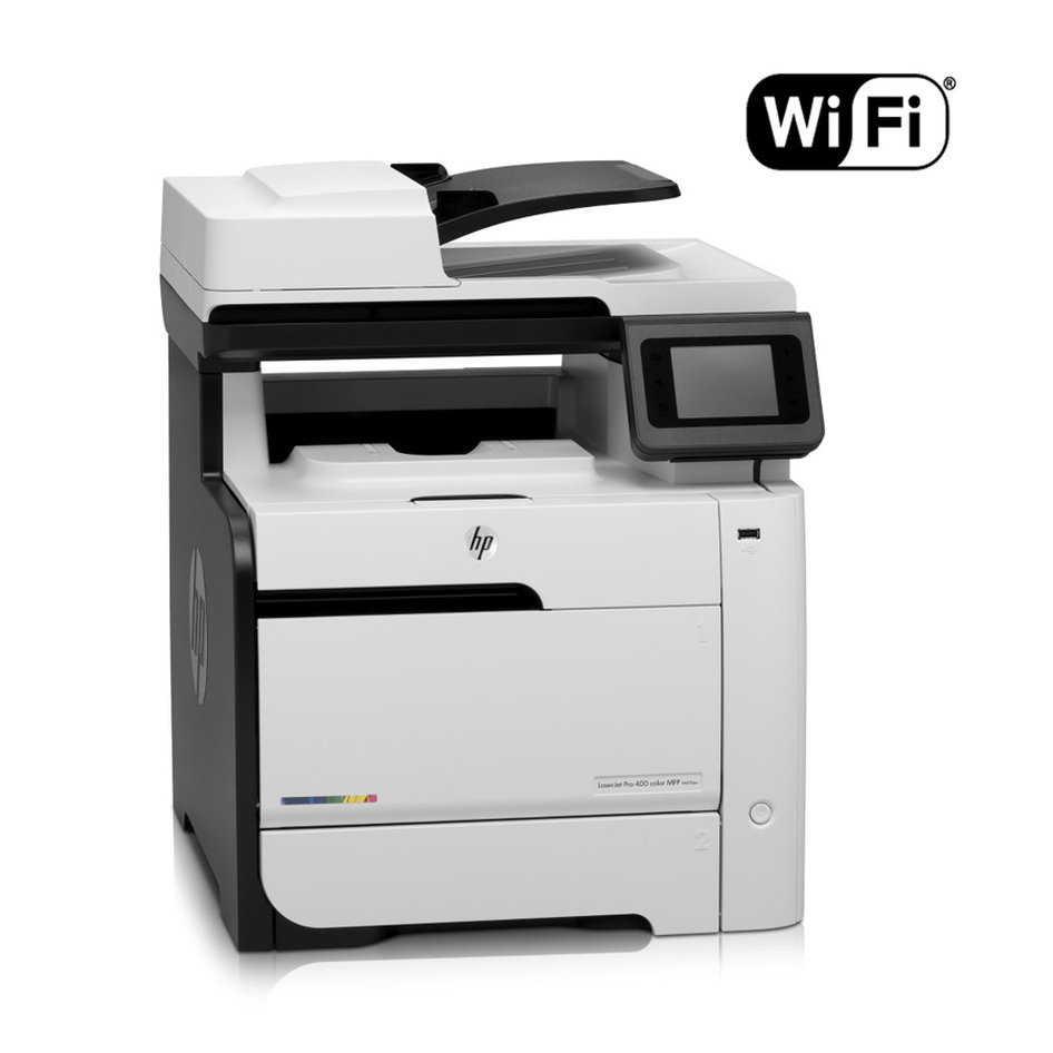 HP used Multifunction Printer M475dw, Laser, Color, WiFi, με toner