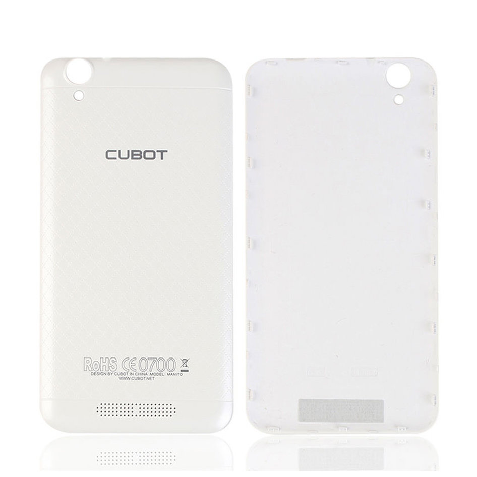 CUBOT Battery Cover για Smartphone Manito, White