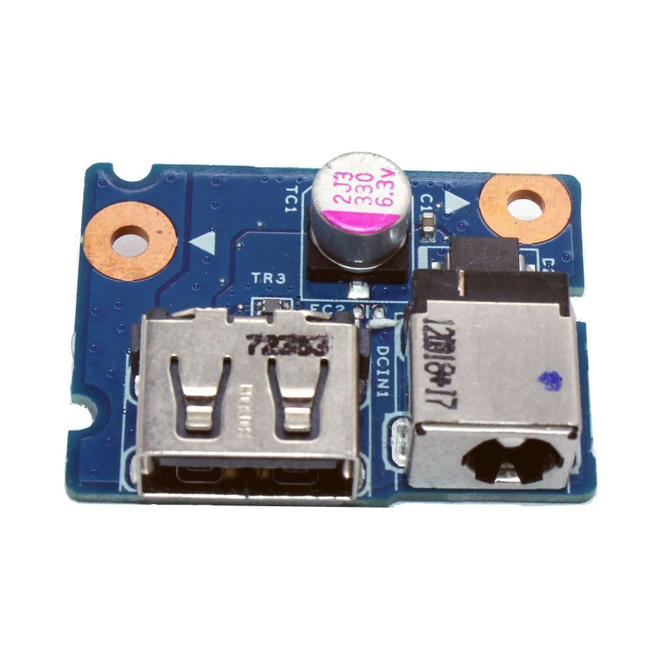 DC Power Jack for Lenovo G580, USB Board