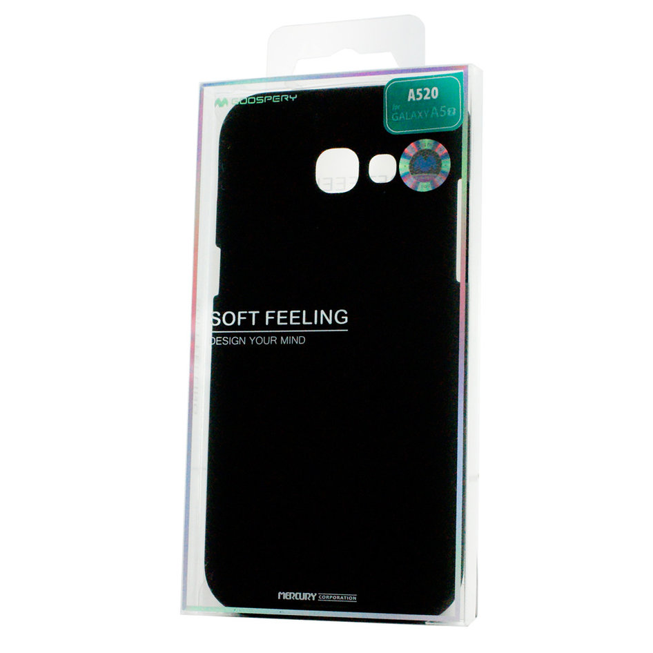 MERCURY Θήκη Soft Feeling Jelly για Samsung A5 2017 (A520), Black
