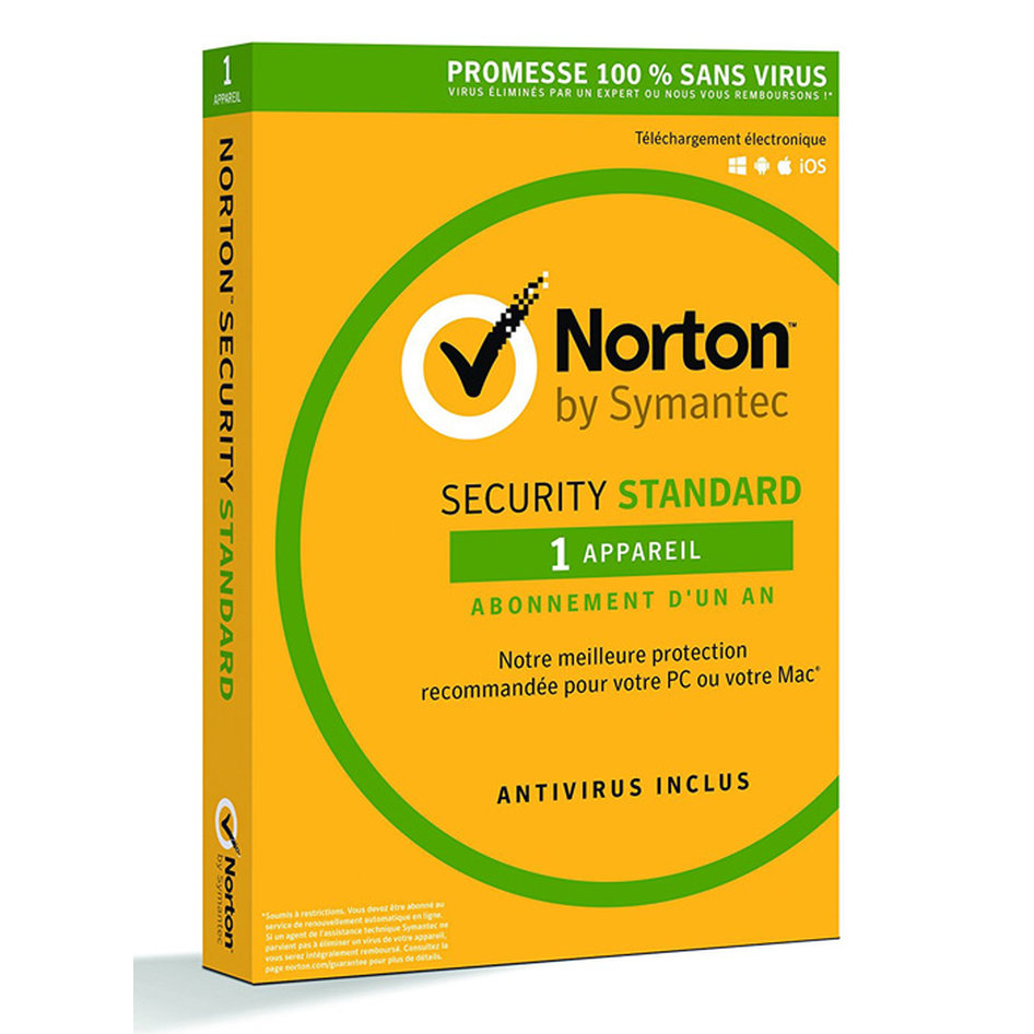 NORTON Security Standard 2018 (1 Άδεια, 1 έτος), EU