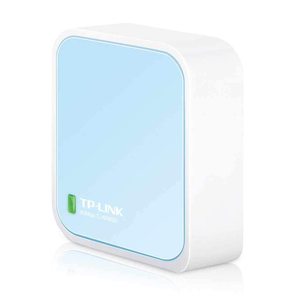 TP-LINK 300Mbps Wireless N Nano Router TL-WR802N, Ver. 2.0