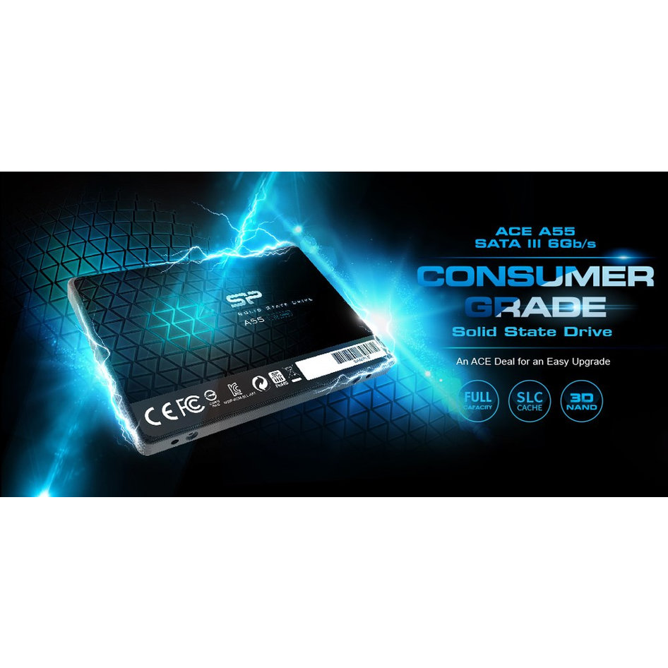 SILICON POWER SSD A55 128GB, 2.5