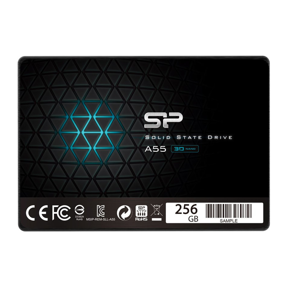 SILICON POWER SSD A55 256GB, 2.5