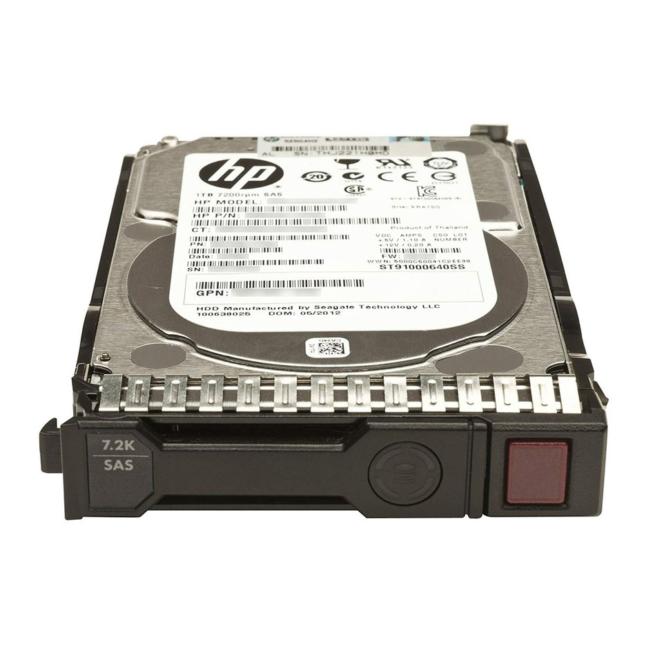 HP used SAS HDD 652757-B21, 2TB, 7200RPM, 3.5