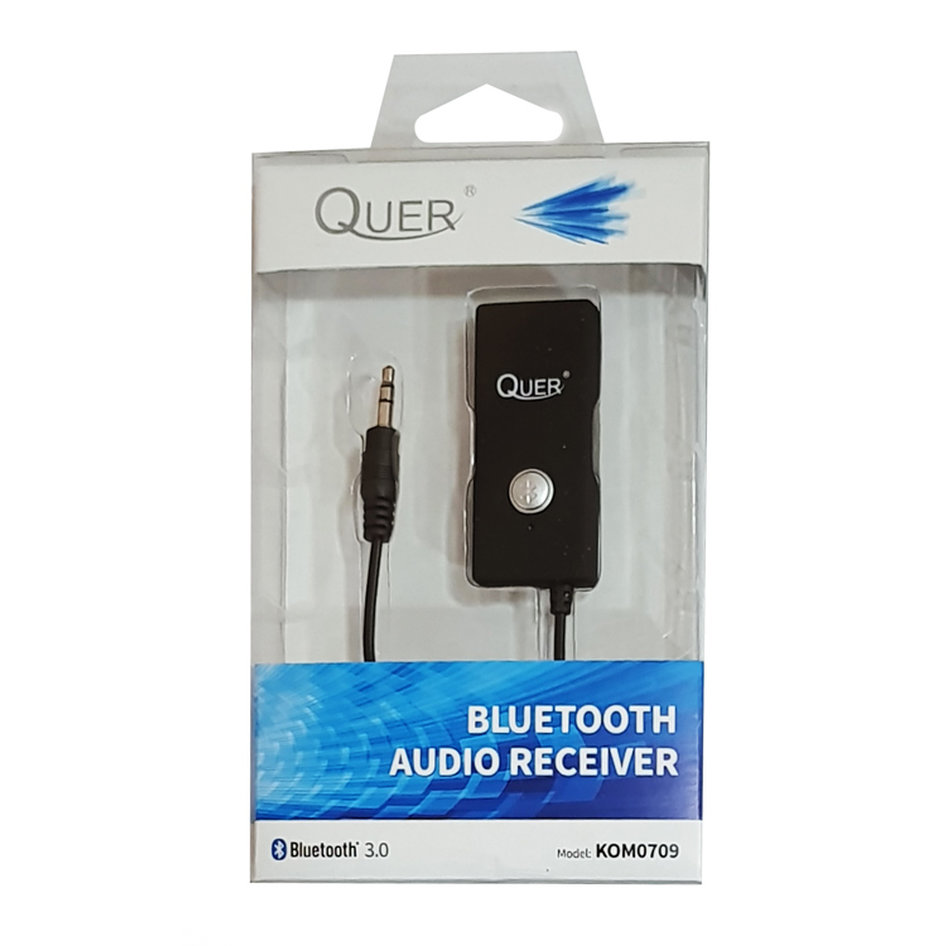 QUER Bluetooth Audio Receiver KOM0709, BT 3.0, 160mAh