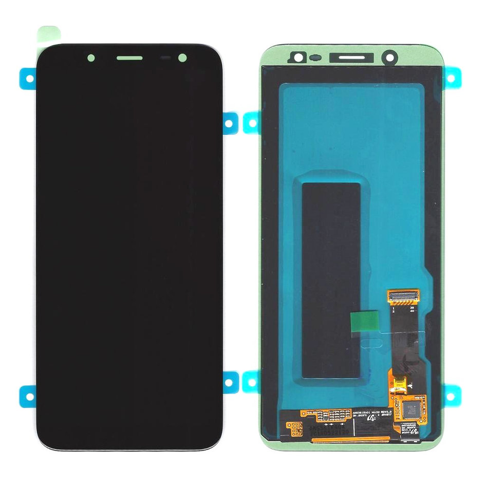 SAMSUNG Original LCD & Touch Panel για Galaxy J6 SM-J600F, Black