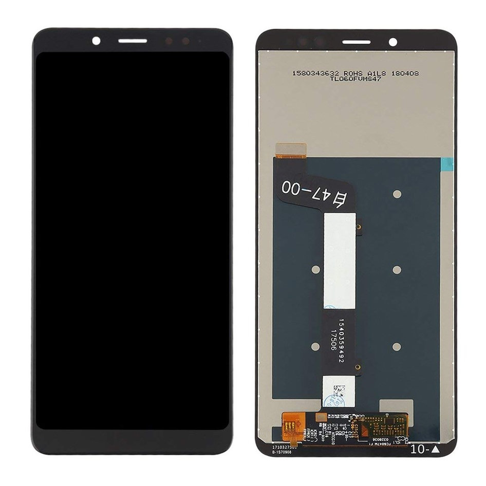 LCD & Touchscreen Digitizer για Xiaomi Redmi Note 5 Pro, μαύρο