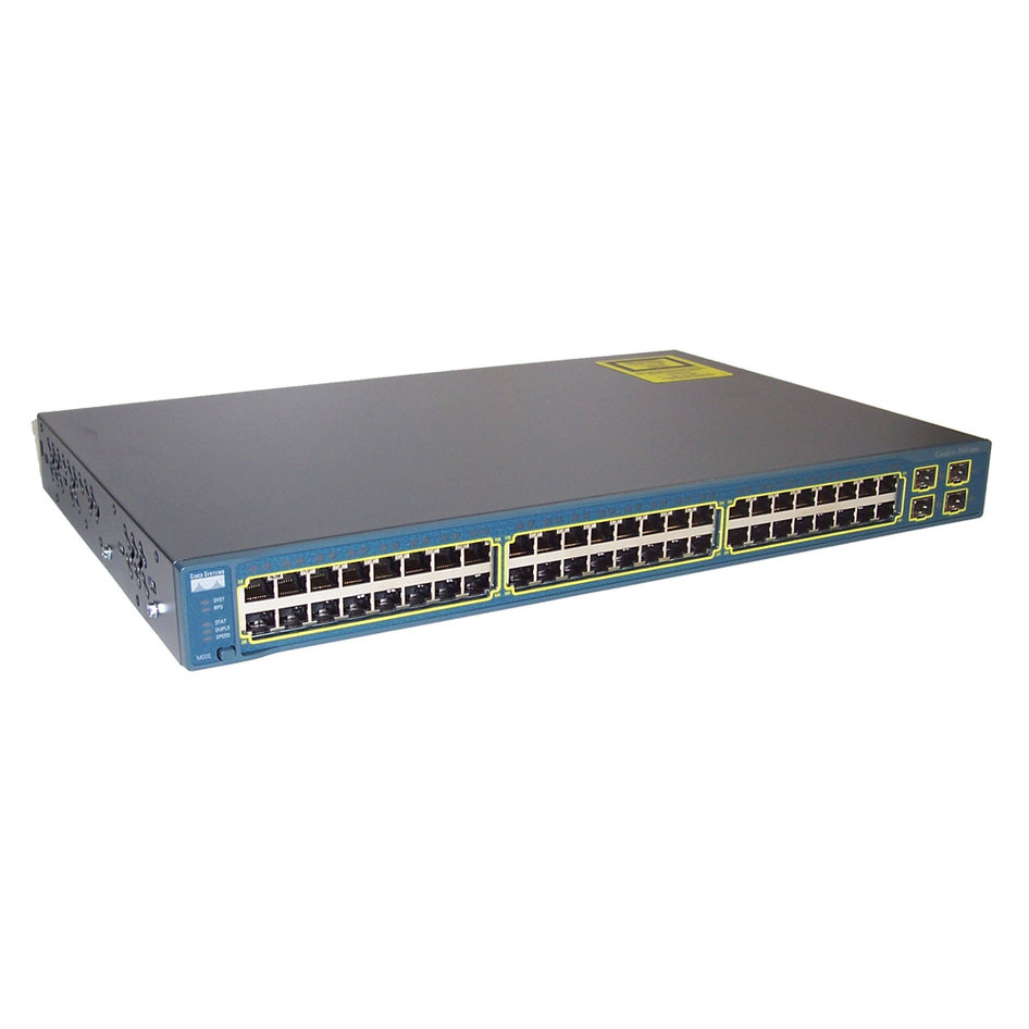 CISCO used Catalyst 3560G-48PS, Switch, 48 ports, Managed