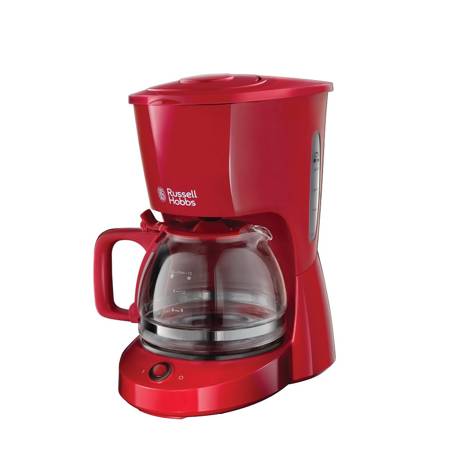 RH 22611-56 Textures Red Coffee Maker
