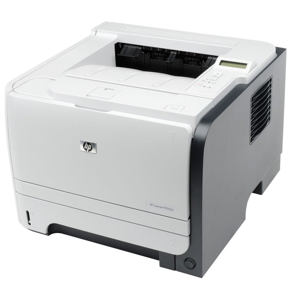 HP used Printer LaserJet P2055d, Laser, Mono, με toner