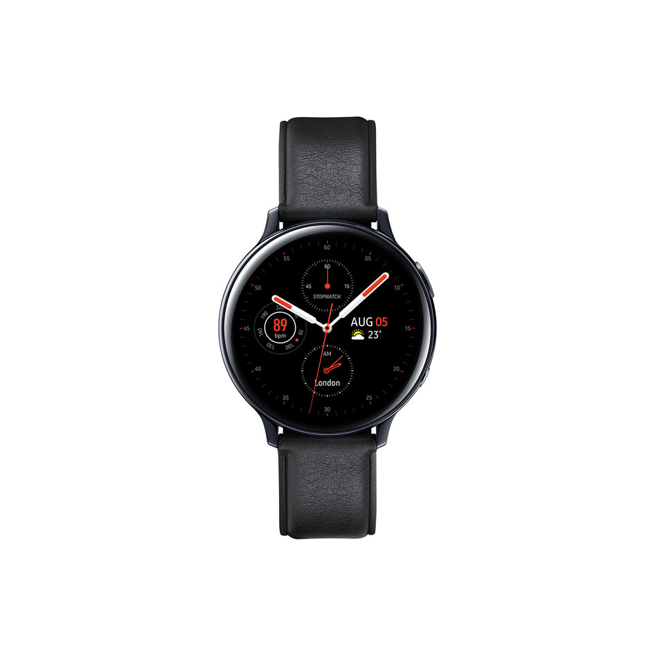 Samsung Galaxy Watch Active 2 Stainless Steel 44mm'' Black