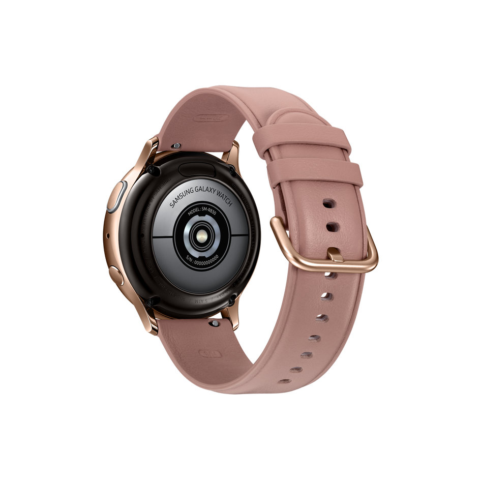 Samsung Galaxy Watch Active 2 Stainless Steel 40mm'' Gold