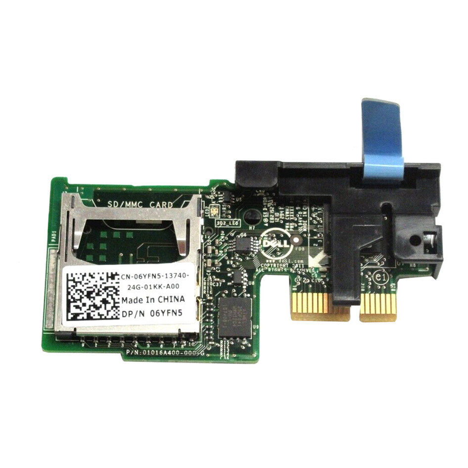 DELL used dual SD Card module 06YFN5 για Poweredge R720, R620