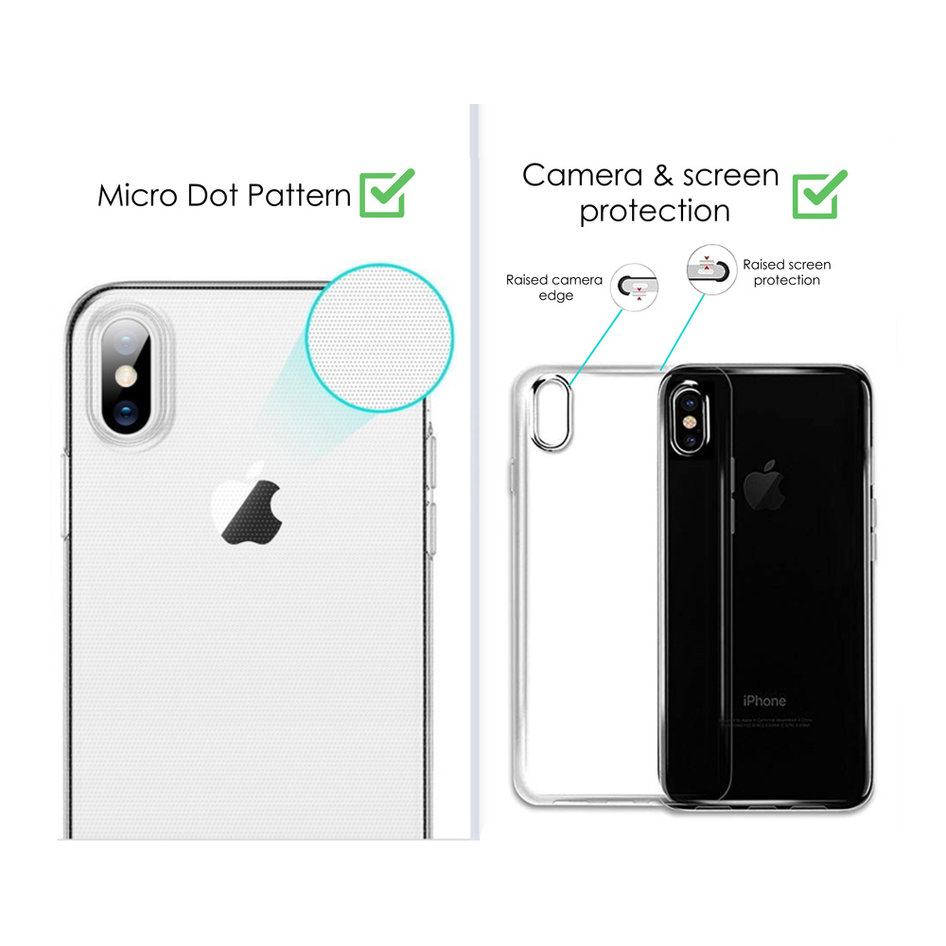 POWERTECH Θήκη Perfect Clear 1mm MOB-1356, Huawei P Smart 2019, διάφανη