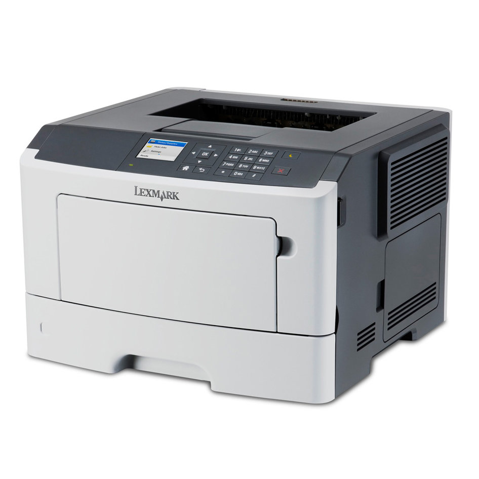 LEXMARK used Printer MS510DN, Laser, monochrome, με toner & drum