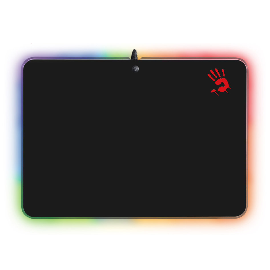 BLOODY Gaming Mousepad BLD-MP-50RS, με RGB LED backlit, 35.8x25.6cm