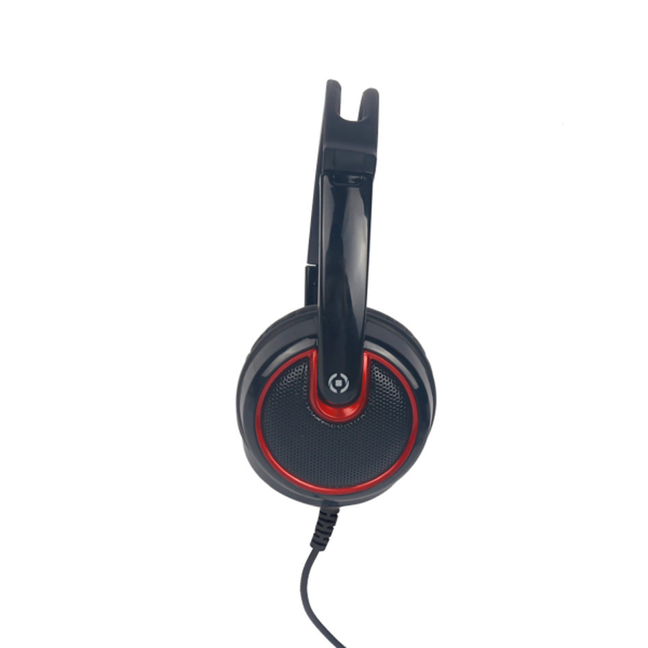 Celly Gaming Headphones 3.5mm Black-Red