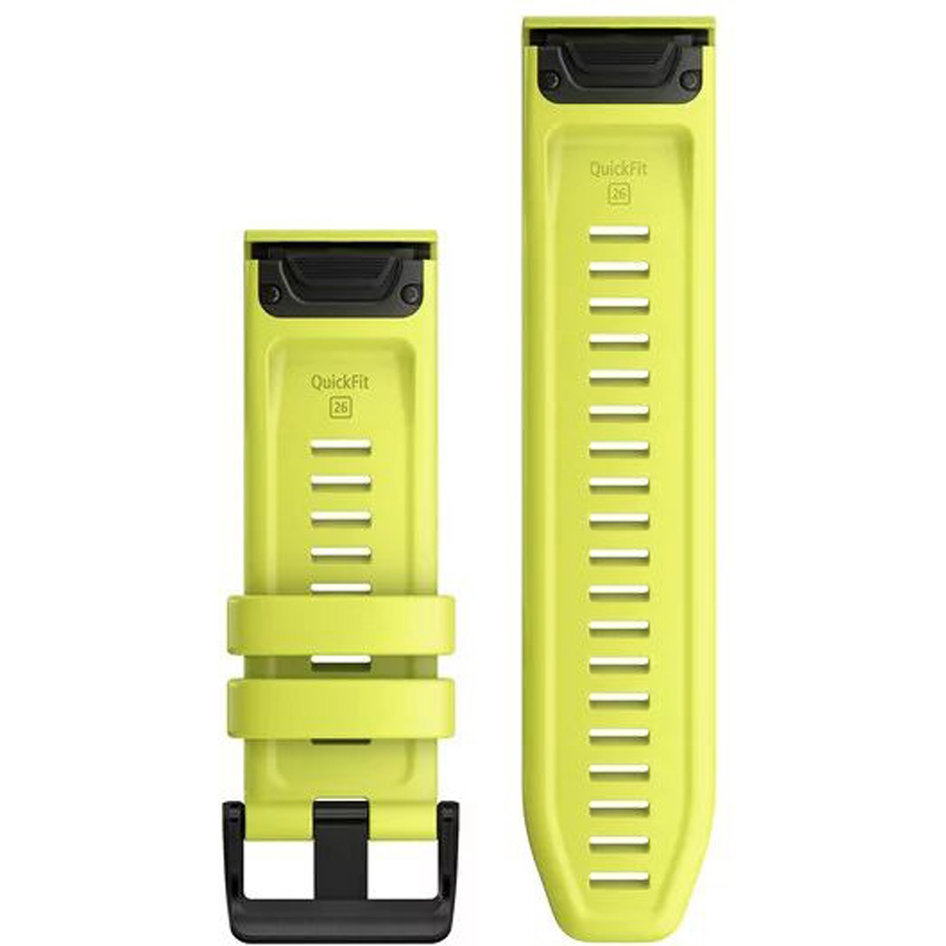 GARMIN QuickFit 26 Amp Yellow Silicone Replacement Strap