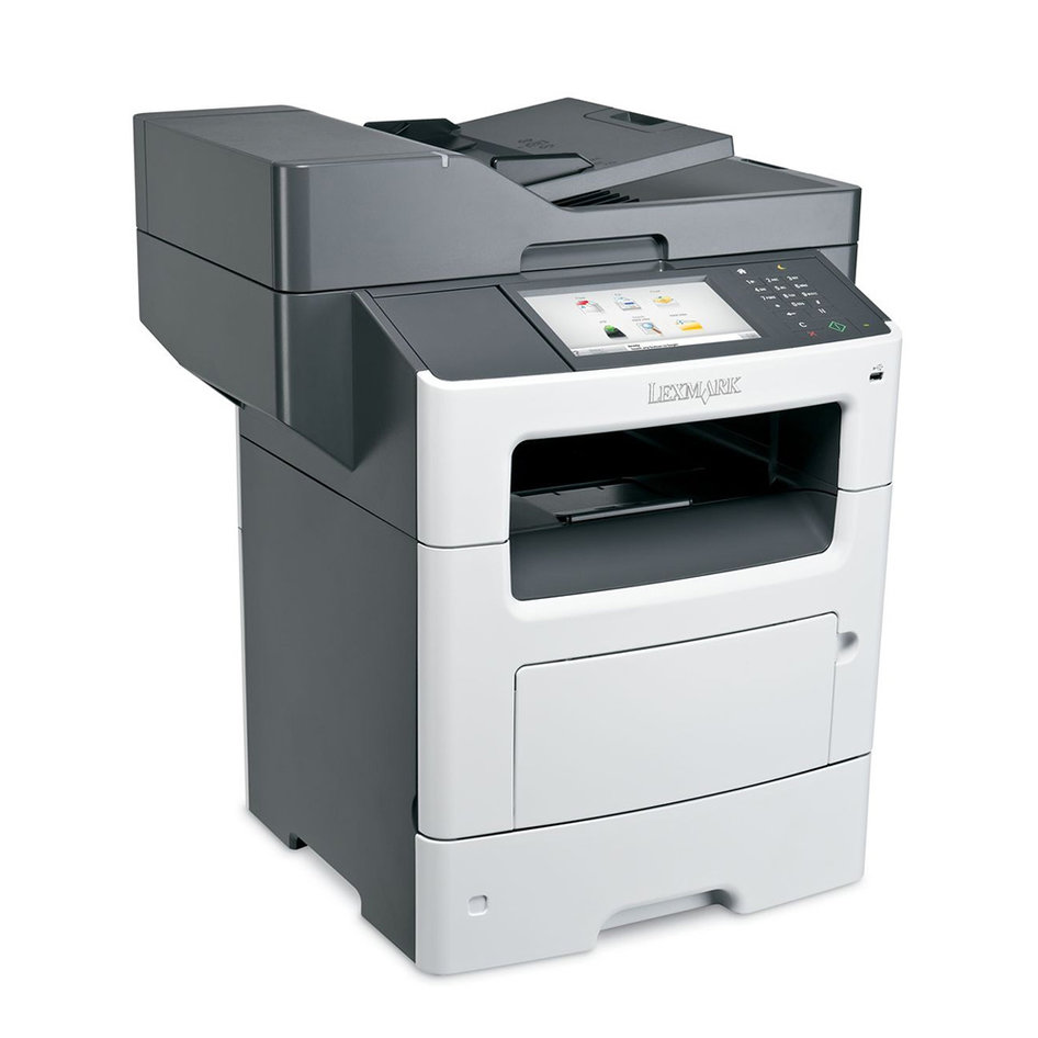 LEXMARK used MFP Printer MX611DHE, Laser, Mono, με Toner