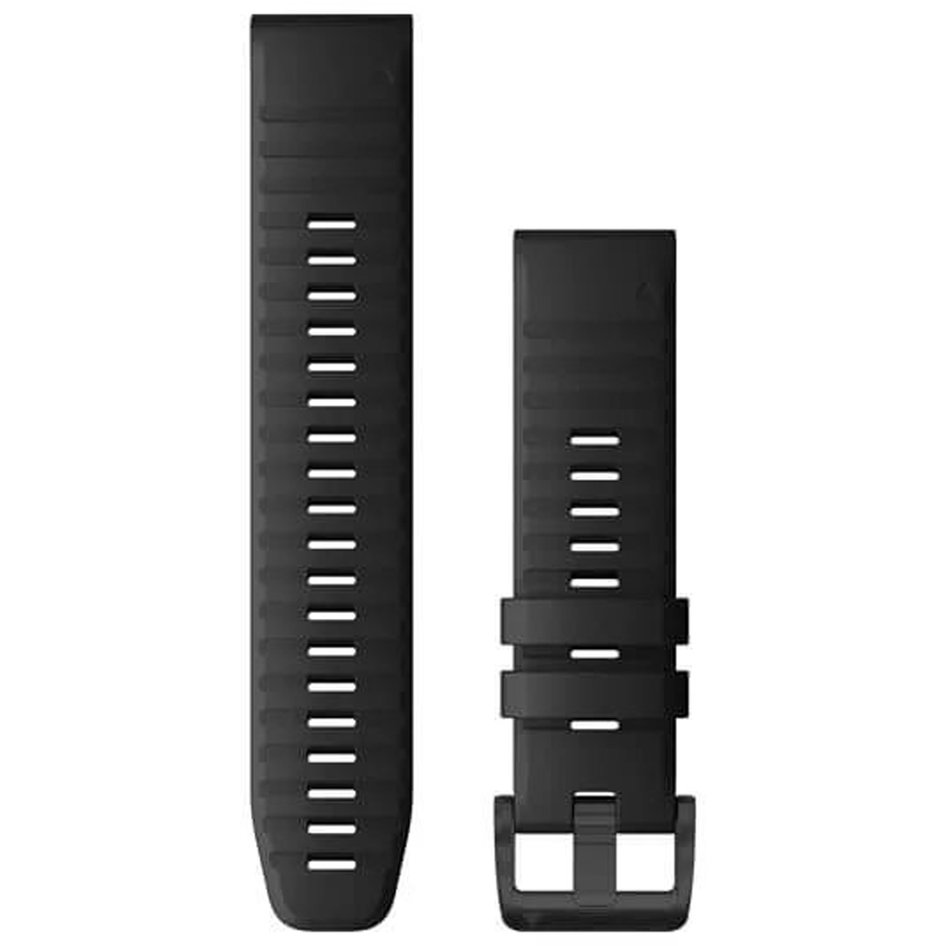 GARMIN QuickFit 22 Black Silicone Replacement Strap