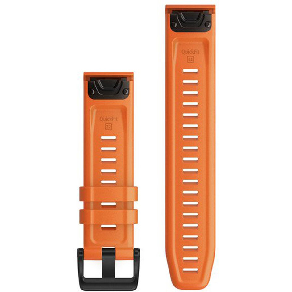 GARMIN QuickFit 22 Ember Orange Silicone Replacement Strap