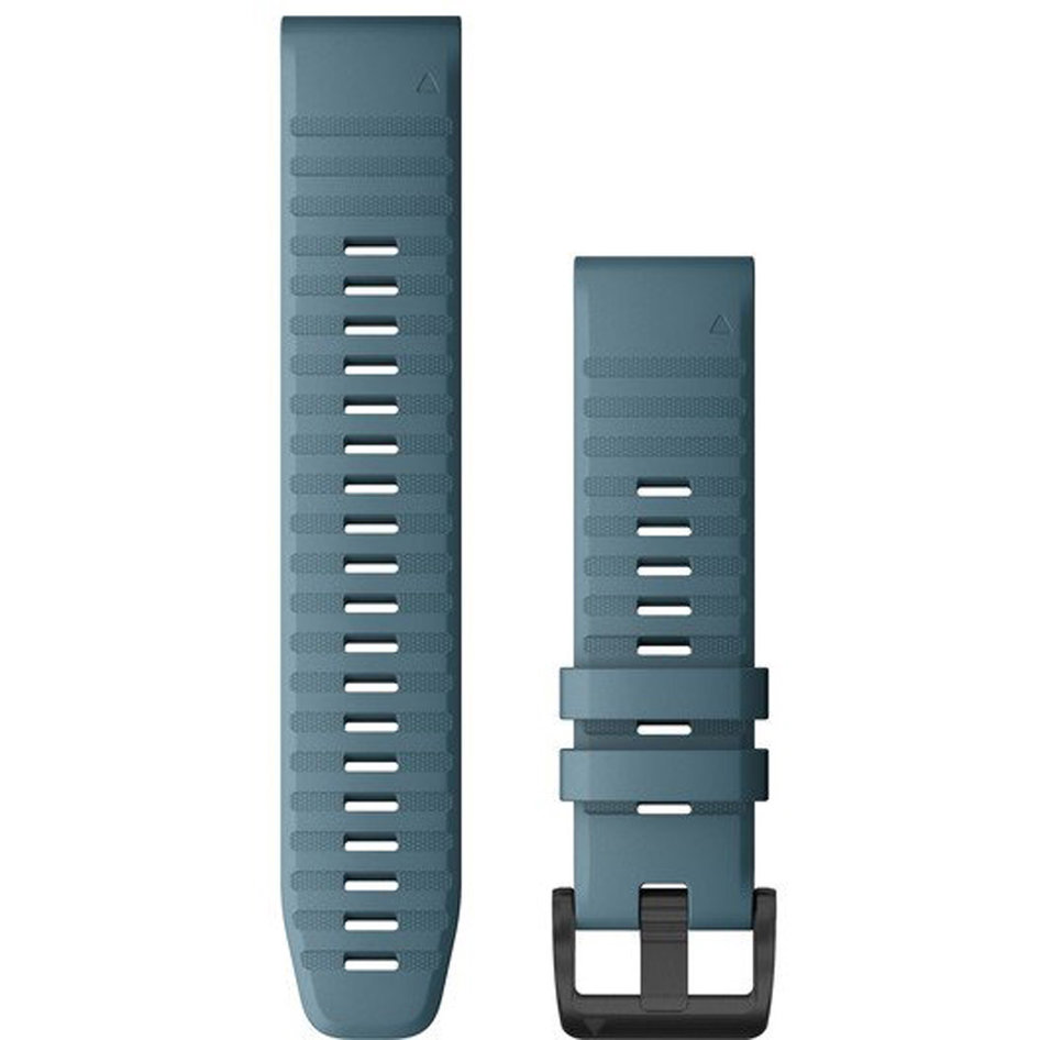 GARMIN QuickFit 22 Lakeside Blue Silicone Replacement Strap