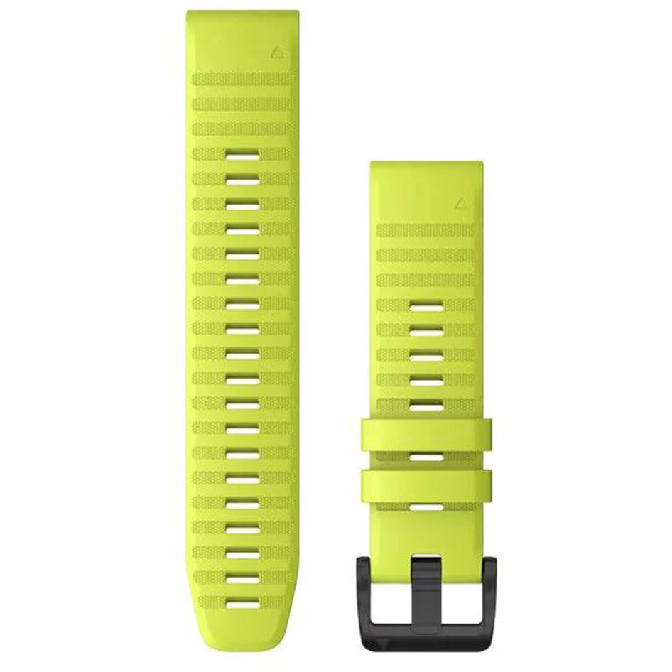 GARMIN QuickFit 22 Amp Yellow Silicone Replacement Strap