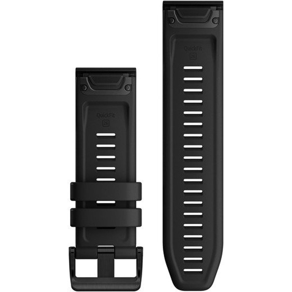 GARMIN QuickFit 26 Black Silicone Replacement Strap