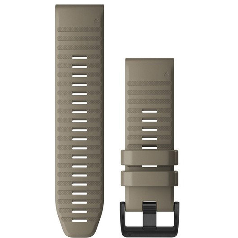 GARMIN QuickFit 26 Dark Sandstone Silicone Replacement Strap