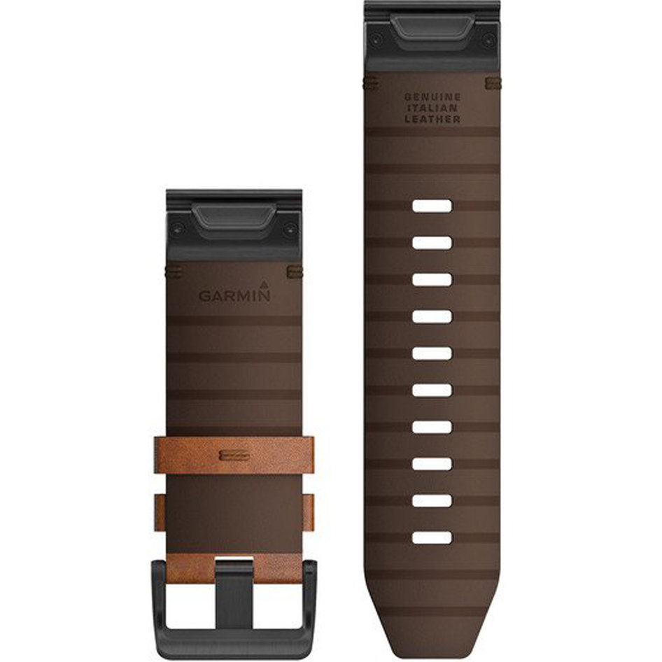 GARMIN QuickFit 26 Chestnut Leather Replacement Strap