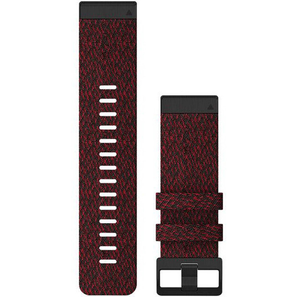 GARMIN QuickFit 26 Heathered Red Nylon Replacement Strap