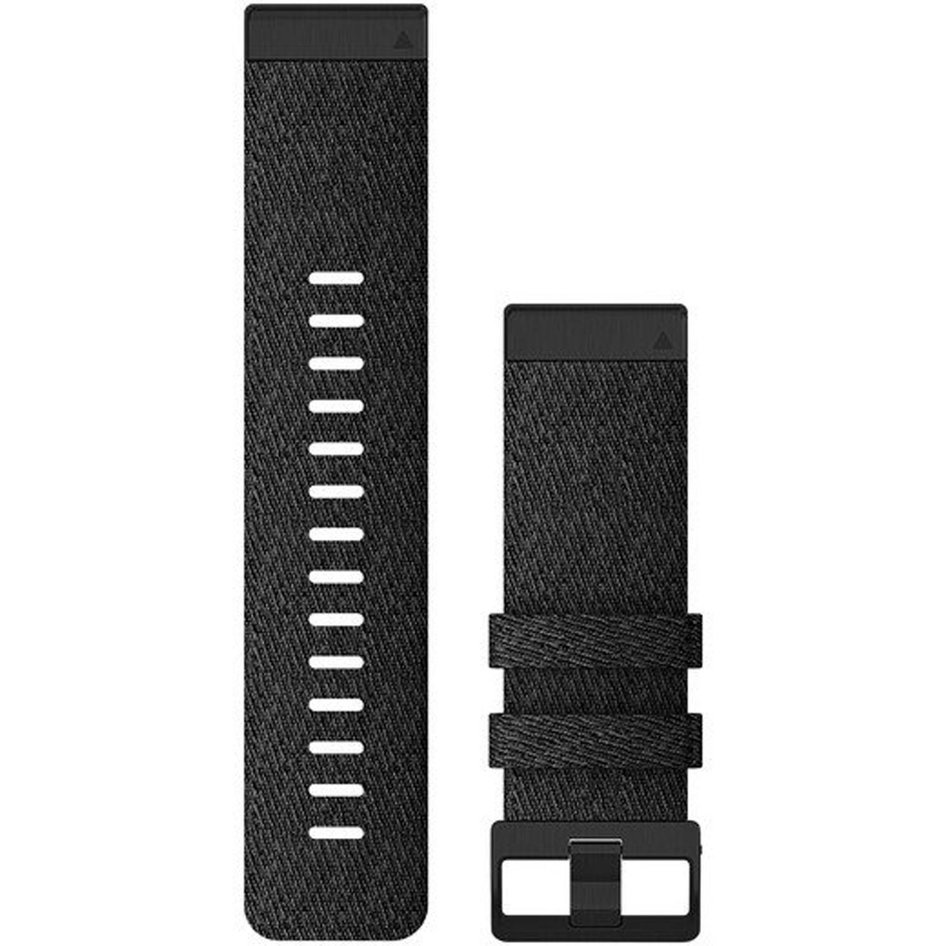 GARMIN QuickFit 26 Heathered Black Nylon Replacement Strap