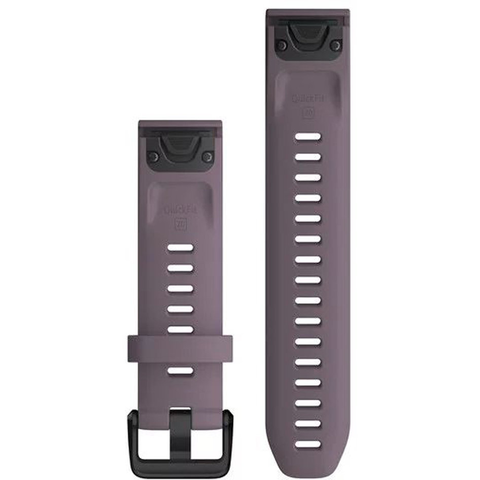 GARMIN QuickFit 20 Purple Storm Silicone Replacement Strap