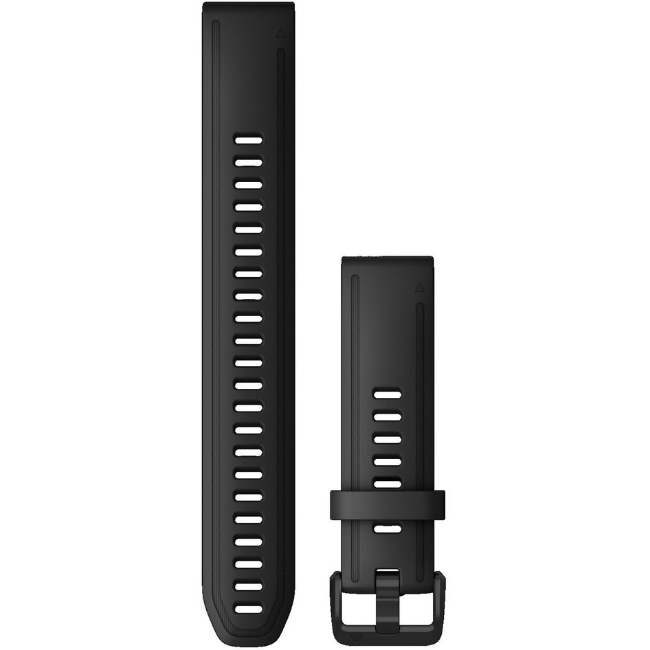 GARMIN QuickFit 20 Black Silicone (Large) Replacement Strap