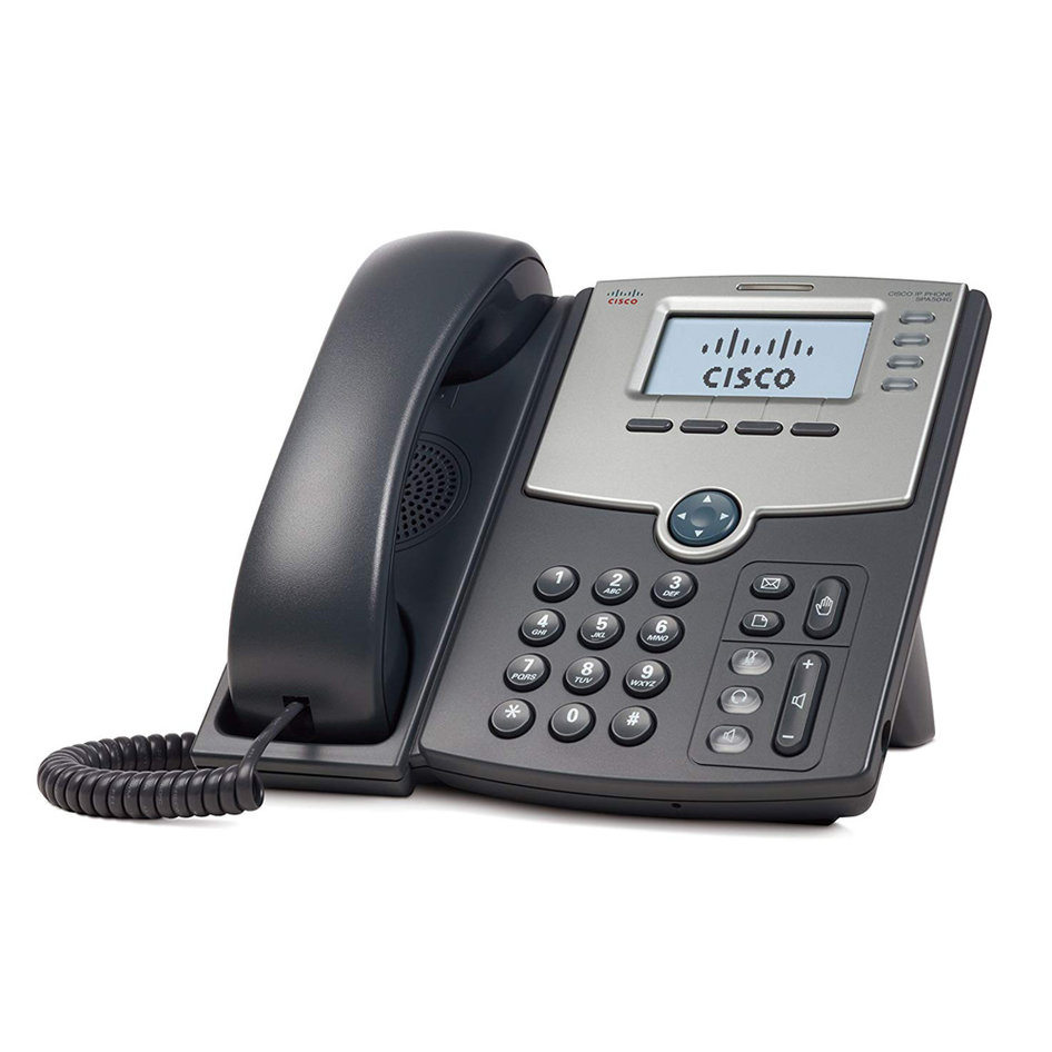 CISCO used IP Phone SPA504G, PoE, γκρι