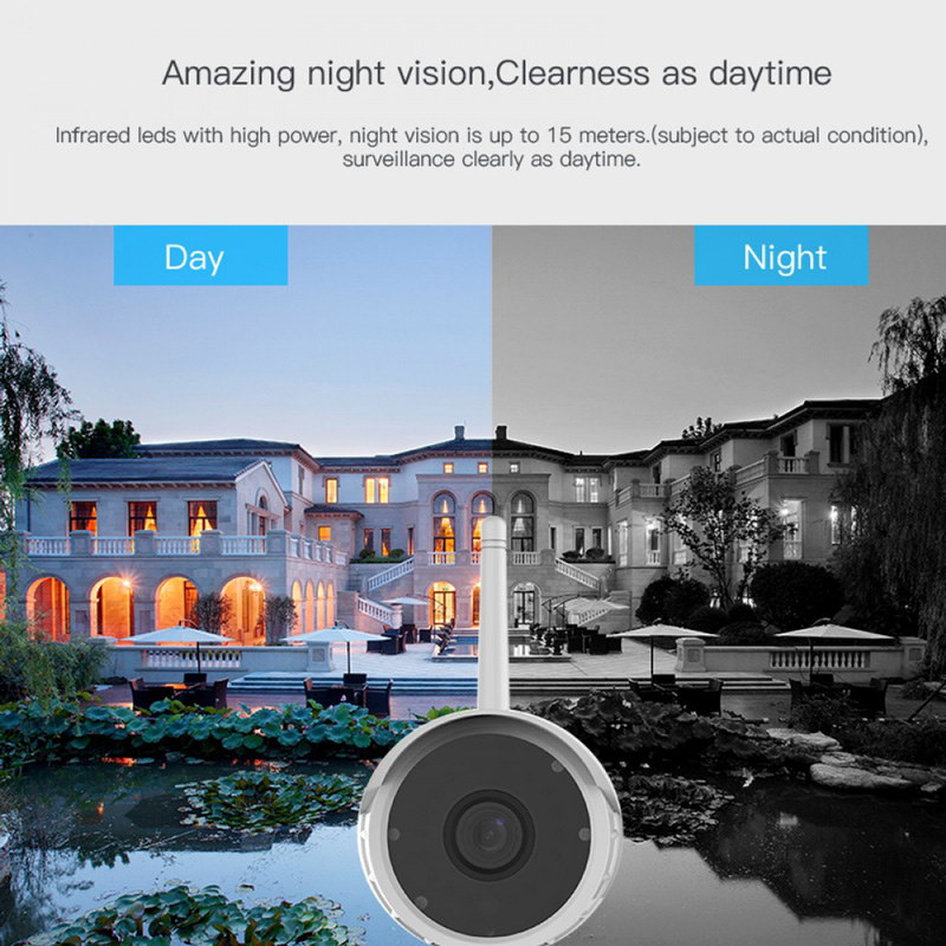 VSTARCAM Wi-Fi Bulet κάμερα IPP-012, Full HD, 4mm
