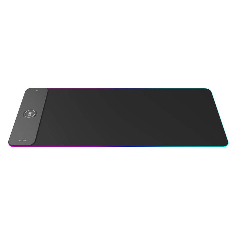 PHILIPS Gaming Mousepad SPL7604, wireless charger, LED backlit, 80x30cm