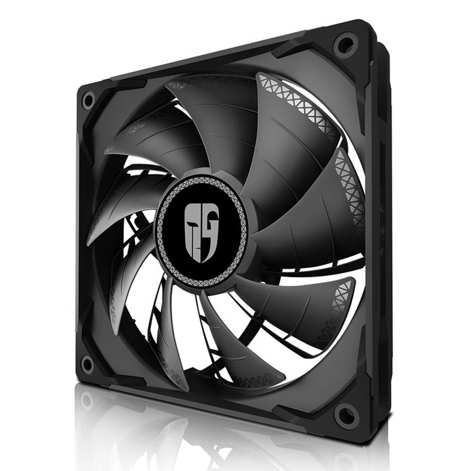 DEEPCOOL TF120S BLACK TURBO COOLING FAN 120MM