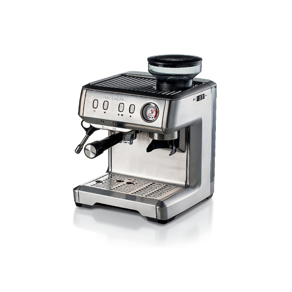 ARIETE 1313 ESPRESSO COFFEE MACHINE WITH COFFEE GRINDER