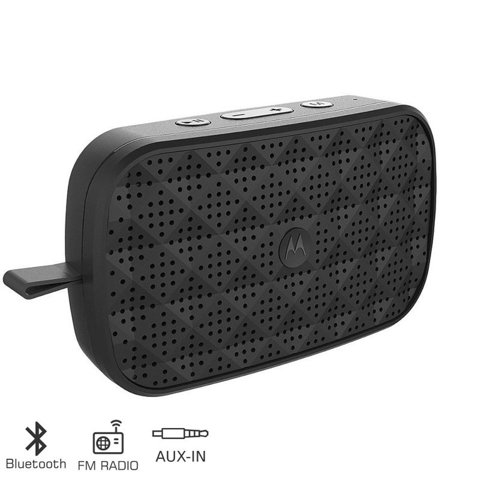 MOTOROLA SONIC PLAY 150 ΦΟΡΗΤΟ ΗΧΕΙΟ BLUETOOTH ΜΕ ΡΑΔΙΟΦΩΝΟ ΚΑΙ AUX-IN – 1.5W