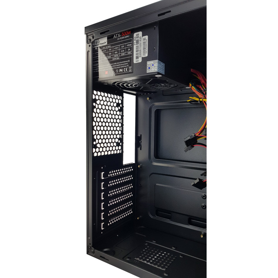 POWERTECH PC Case PT-787, USB 3.0, με PSU 500W