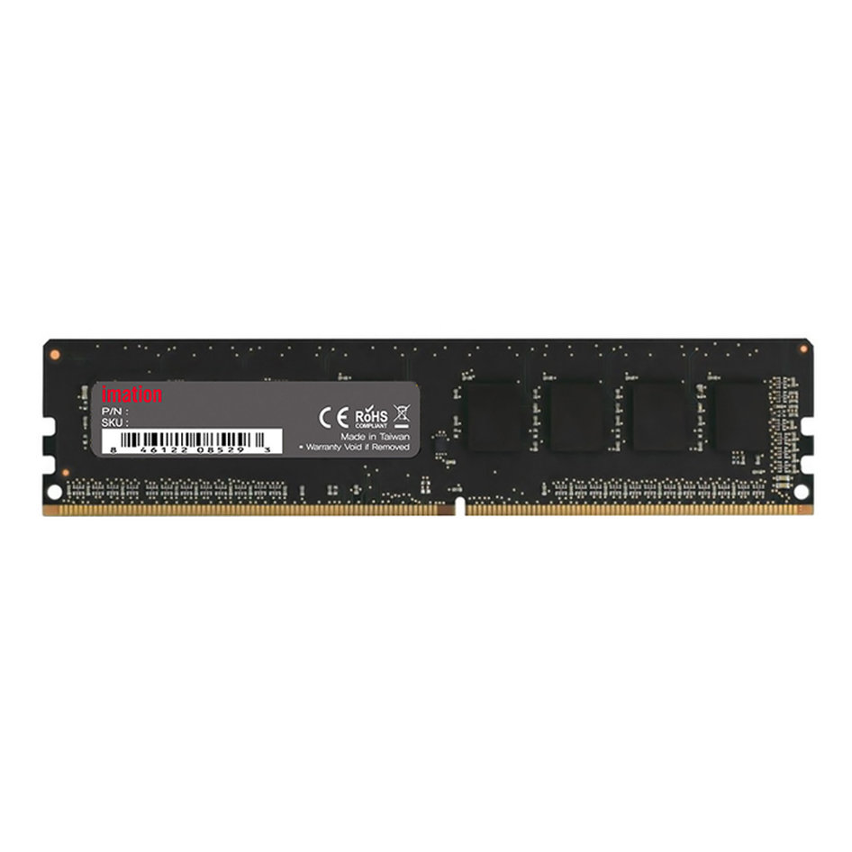 IMATION Μνήμη DDR4 UDimm KR13080008DR, 8GB, 2400MHz, PC4-19200, CL17