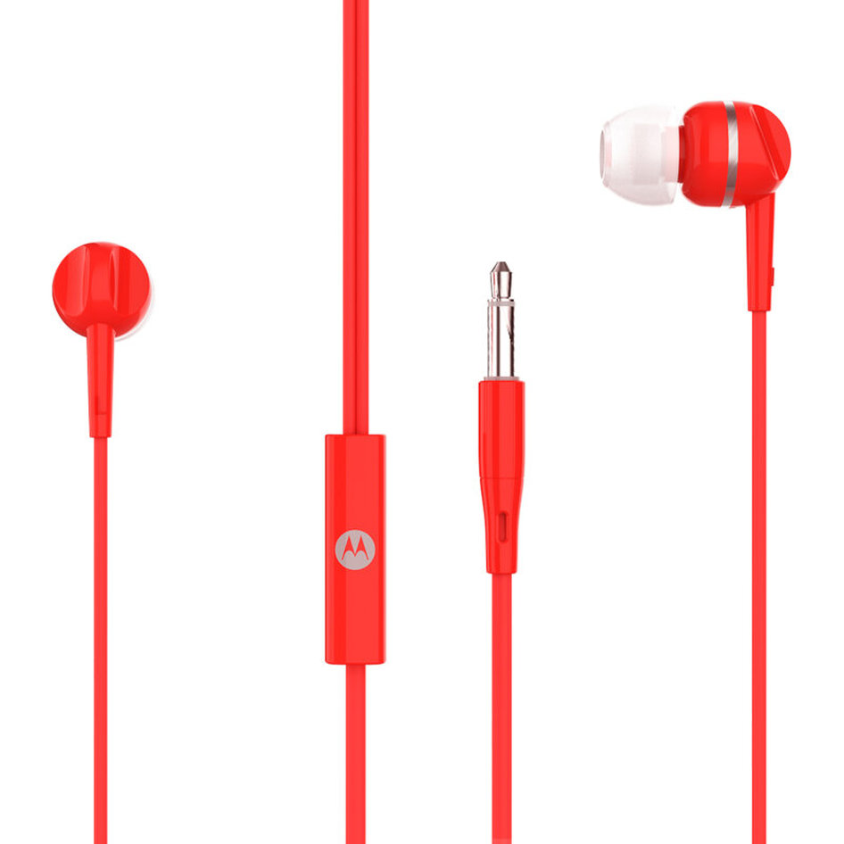 Motorola PACE 105 Red In ear ακουστικά ψείρες Hands Free