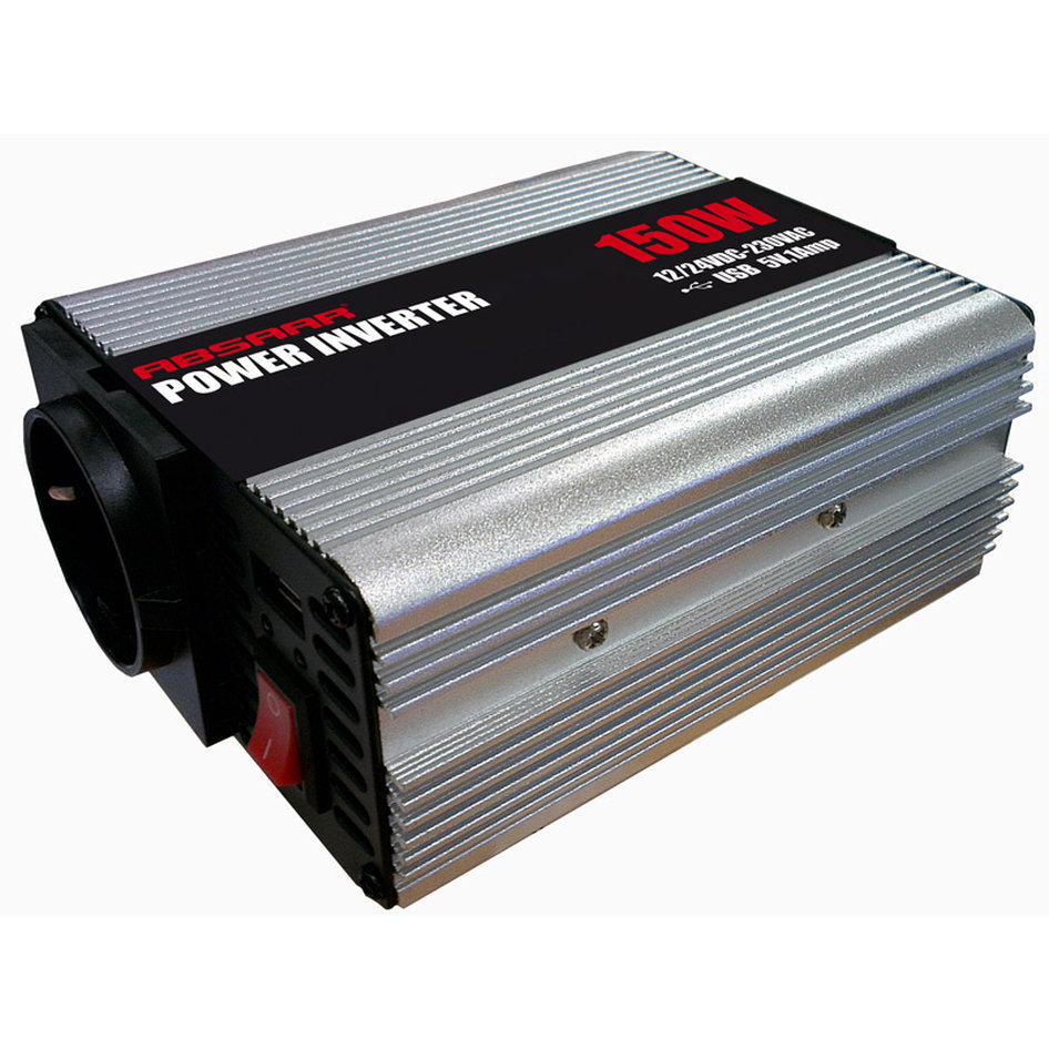 ABSAAR AB-3150-100 POWER INVERTER 150W ΑΠΟ12V ΣΕ 220W ABSAAR